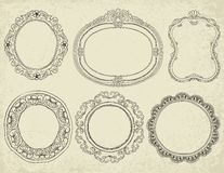 Frames Collection Royalty Free Stock Photography