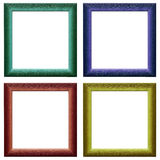 Frames coloridos Fotografia de Stock