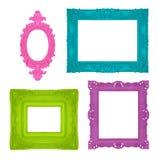 Frames coloridos Imagens de Stock