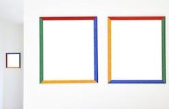 Frames coloridos Fotografia de Stock Royalty Free