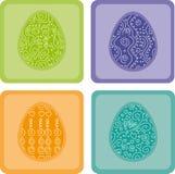 Frames coloridos de Easter Imagem de Stock