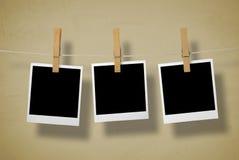 Frames da câmera imediata Imagens de Stock Royalty Free