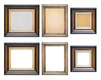 Frames da coleção do vintage Imagens de Stock Royalty Free