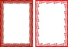 Frames da estrela ilustração stock