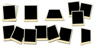 Frames da foto Foto de Stock