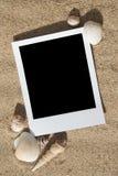 Frames da foto da praia do verão Imagens de Stock