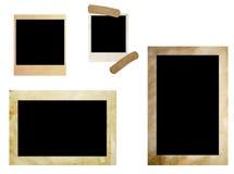 Frames da foto de Grunge Foto de Stock