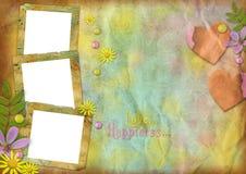 Frames da foto do vintage Fotografia de Stock