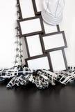 Frames da foto e decoração da roupa Imagens de Stock Royalty Free