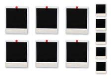 Frames da foto isolados Imagem de Stock Royalty Free