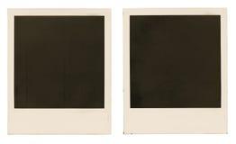 Frames da foto isolados Foto de Stock