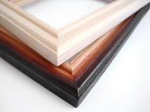 Frames da pintura isolados no fundo branco Fotografia de Stock Royalty Free