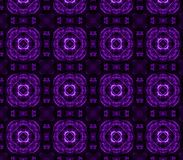 Frames, dark purple curve with line pattern abstract background. Grid Mosaic Background, Creative Design Templates Stock Illustration