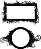 Frames de Grunge Imagem de Stock Royalty Free