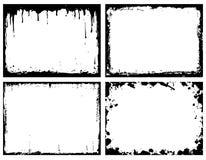 Frames de Grunge Imagens de Stock