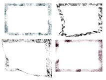 Frames de Grunge Fotos de Stock