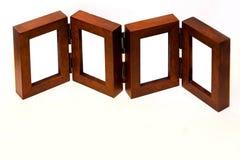 Frames de madeira Imagens de Stock Royalty Free