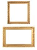 Frames de madeira Foto de Stock