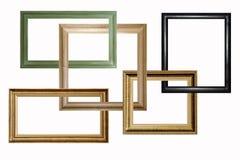 Frames de madeira Fotos de Stock