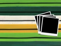 Frames de madeira da foto do assoalho Fotos de Stock Royalty Free