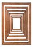 Frames de madeira múltiplos da foto Fotografia de Stock Royalty Free