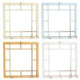 Frames de madeira sujos Imagens de Stock