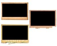 Frames de papel da foto de Pld Imagem de Stock