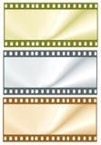 Frames de película da cor Foto de Stock Royalty Free