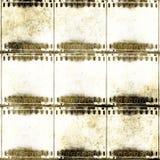 Frames de película de Grunge Imagens de Stock Royalty Free