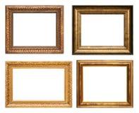 Frames de retrato antigos Fotografia de Stock