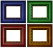 Frames de retrato coloridos Imagens de Stock