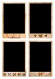 Frames de retrato de Grunge Foto de Stock Royalty Free