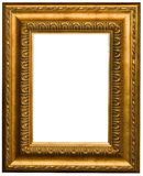 Frames de retrato do ouro Imagem de Stock Royalty Free