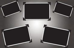 Frames de retrato em branco Foto de Stock Royalty Free