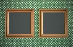 Frames de retrato em branco Imagens de Stock Royalty Free