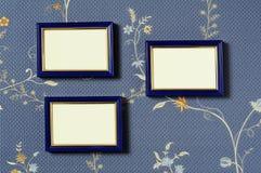 Frames de retrato vazios Foto de Stock