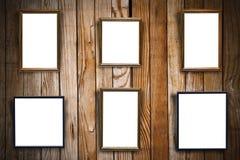 Frames de retrato vazios Imagem de Stock Royalty Free