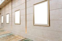 Frames de retrato vazios Imagem de Stock