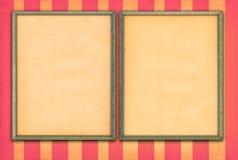 Frames de retrato vazios Foto de Stock Royalty Free