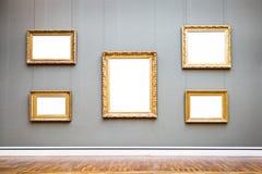 Frames de retrato velhos imagem de stock royalty free