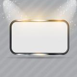 Frames de vidro realísticos. Ilustração do vetor Fotografia de Stock Royalty Free