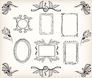 Frames and decoration Stock Image