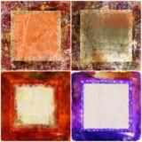 Frames decorativos Imagens de Stock
