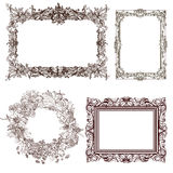 Frames decorativos Fotos de Stock Royalty Free