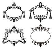 Frames decorativos Imagem de Stock