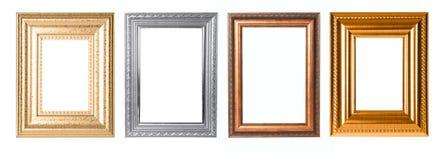 Frames decorativos retangulares para seu projeto Fotografia de Stock