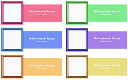 Frames and design Stock Photo
