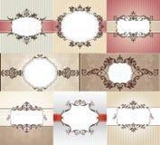 Frames diferentes do vintage Fotografia de Stock