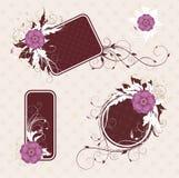 Frames diferentes para seu texto ilustração royalty free