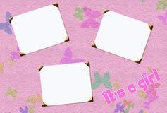Frames do bebé Fotos de Stock Royalty Free